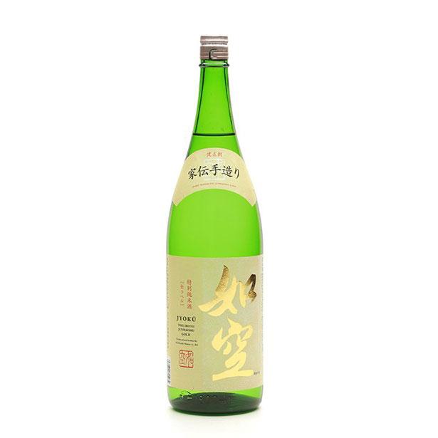 如空特別純米酒金ラベル 1800mL
